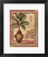 Fresco Palm IV Framed Print