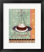 Mint Truffe Framed Print