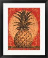 Framed Grand Pineapple Red