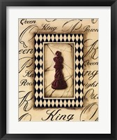 Framed Chess King