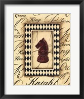 Chess Knight Framed Print