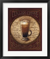 Framed Italian Coffee