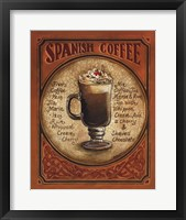 Spanish Coffee Framed Print