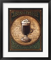 Framed Irish Coffee