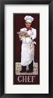 Chef Framed Print
