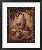Framed Tuscan Table - Chianti