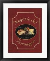 Negozio del Formaggio Framed Print