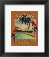 Framed San Blas