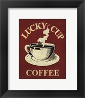 Framed Lucky Cup