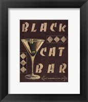 Cocktail Hour III Framed Print
