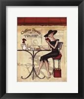 Femme Elegante II Framed Print