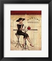 Femme Elegante III Framed Print