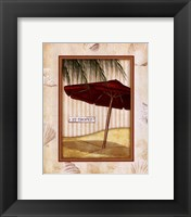 Parasol Club I Framed Print