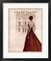 Teatro Framed Print