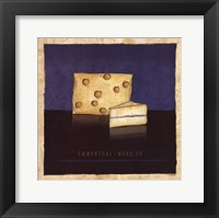 Cheeses IV Framed Print