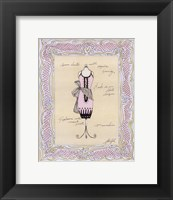 Dress Form IV Framed Print