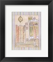 Powder Room II Framed Print