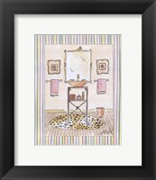 Powder Room III Framed Print