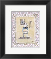 Framed Toilette III
