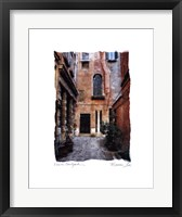Framed Venice Courtyard