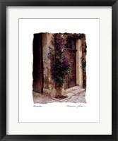 Framed Clematis