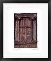 Framed Doors of Cuba I