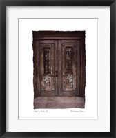 Framed Doors of Cuba II