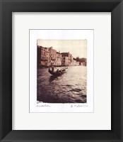 Gondolier Framed Print