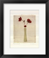 Framed Red Anemones III