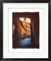 Framed Italian Lane II