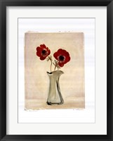 Two Anemones Framed Print