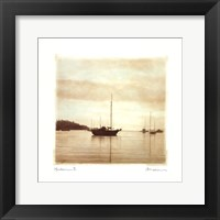 Harbour II Framed Print
