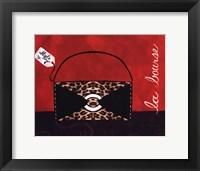Framed Leopard Handbag II