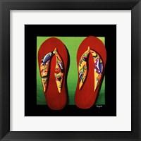 Framed Napa Thongs