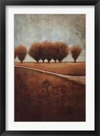 Abstract Landscape I Framed Print