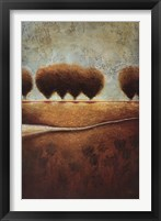 Framed Abstract Landscape II