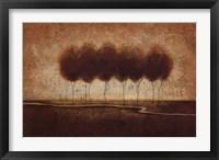 Framed Abstract Landscape IV