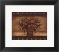 Old World Abundance II Framed Print