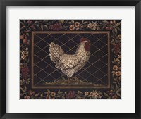 Framed Old World Hen