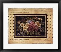Framed Vintage Bouquet II