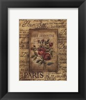 Framed Bel Bouquet II
