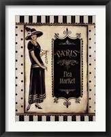 Paris Flea Market Framed Print