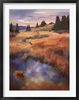 Framed Fall Creek Meadow