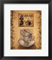 Framed Tea for Two