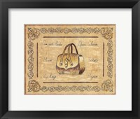 Opera Purse Framed Print