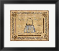 Evening Purse Framed Print