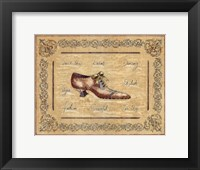 Vogue Shoe Framed Print