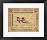 Framed Vogue Shoe