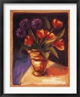 Tulip  Dahlia Framed Print