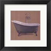 Framed Green Bathtub